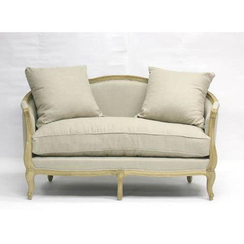 Zentique Maison Settee in Natural