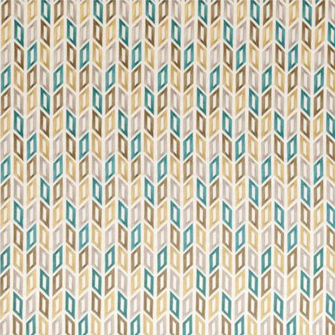Clarke & Clarke Fabric by the Yard Tambour Teal