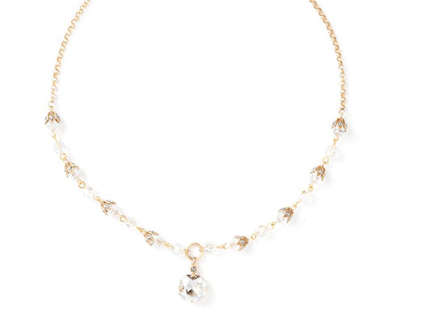 Jennifer Crystal Necklace