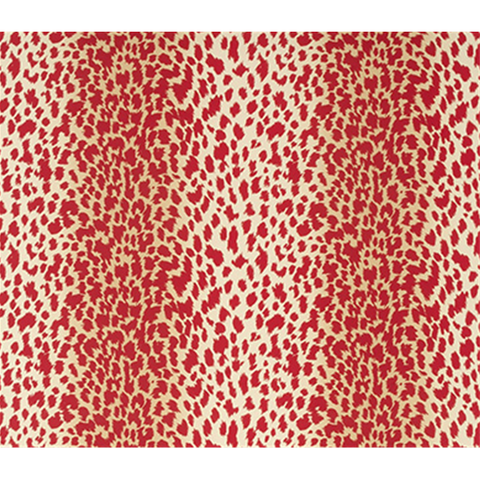 Marcel Wallpaper in Red Cheetah