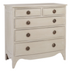 Patrick Bow Front Chest in Shell White