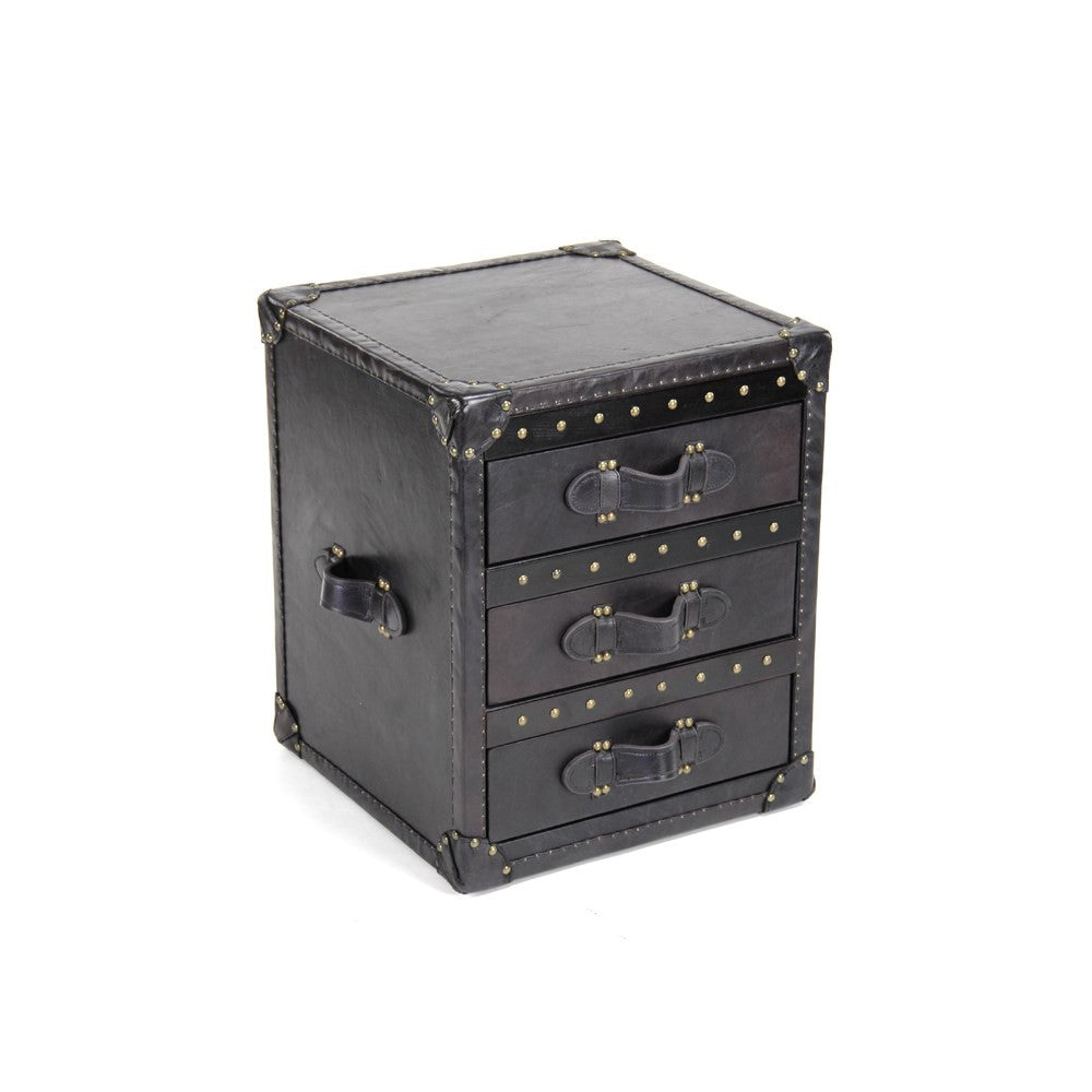 Zentique Leather Chest