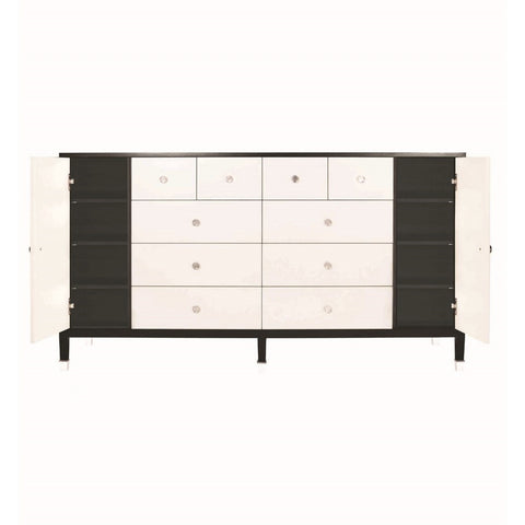 Belle Meade Signature Monroe Dresser in Creme