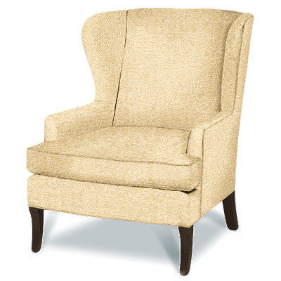 Kravet Journey Wing Chair In Oatmeal - Spring Promo 35% Discount