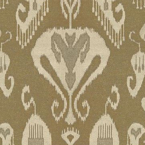 Kravet Fabric by the Yard:  Gilded Ikat in Quince