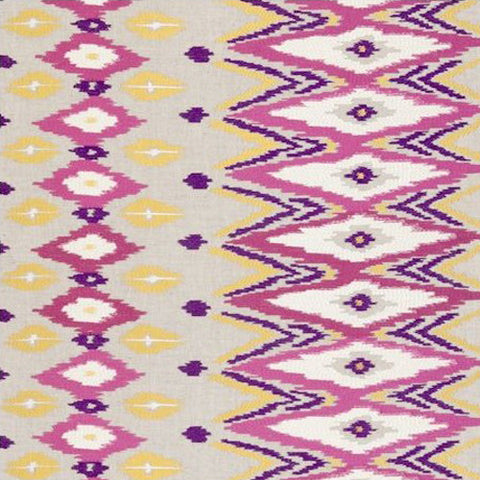 Clarke & Clarke Fabric by the Yard Nomad Berry
