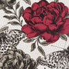Clarke & Clarke Papillon Wallcovering in Rouge
