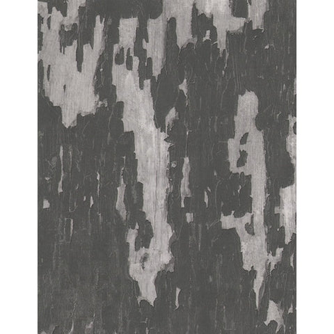Andrew Martin Crackle Wallpaper in Charcoal