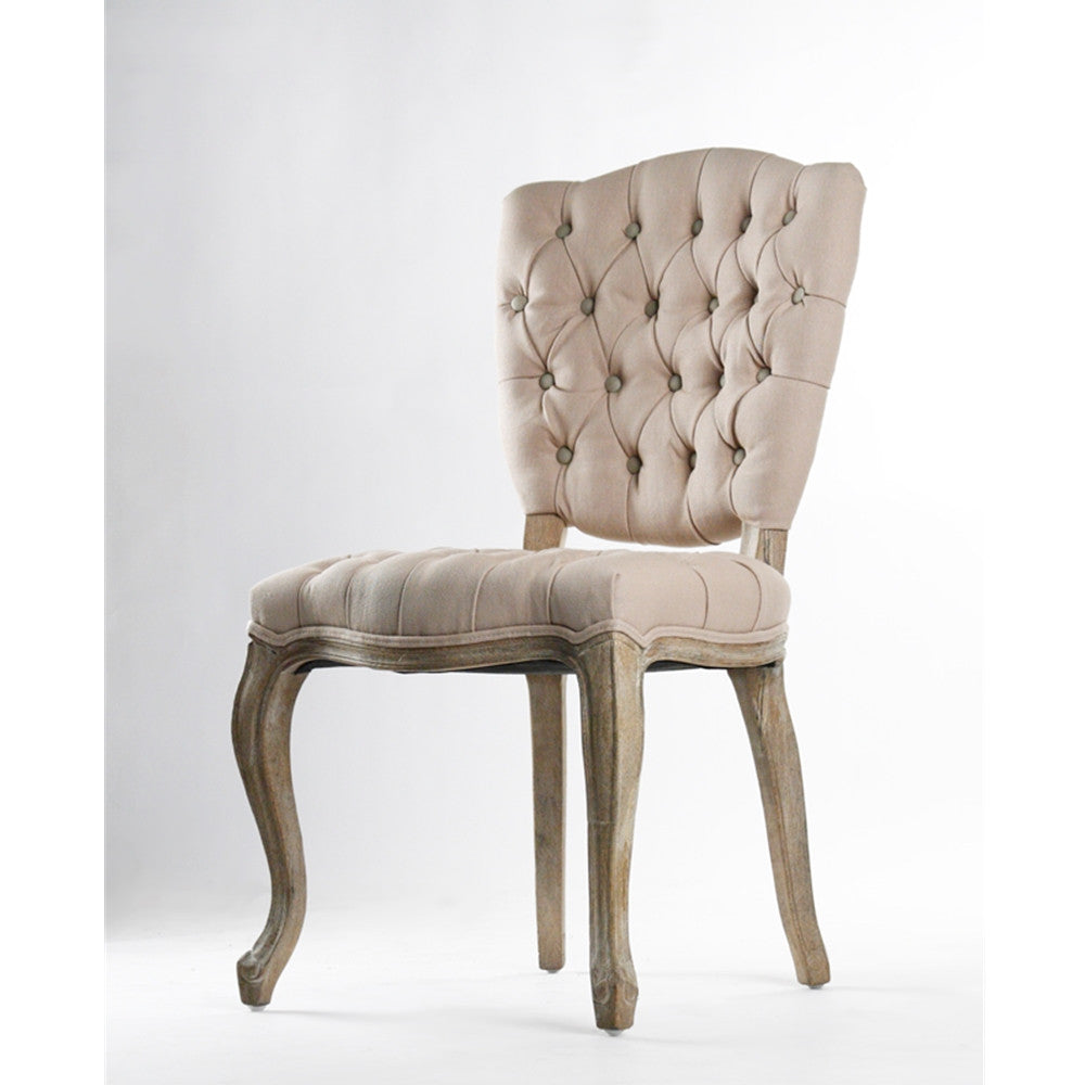 Zentique Piaf Chair in Taupe