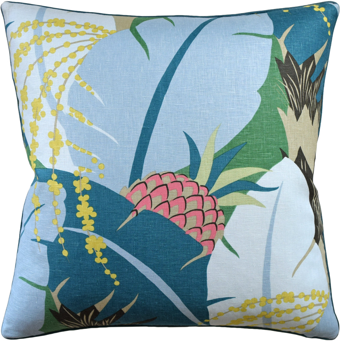 Ryan Studio Ananas Pillow in Peacock