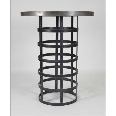 Zentique Recycled Metal Bar Table