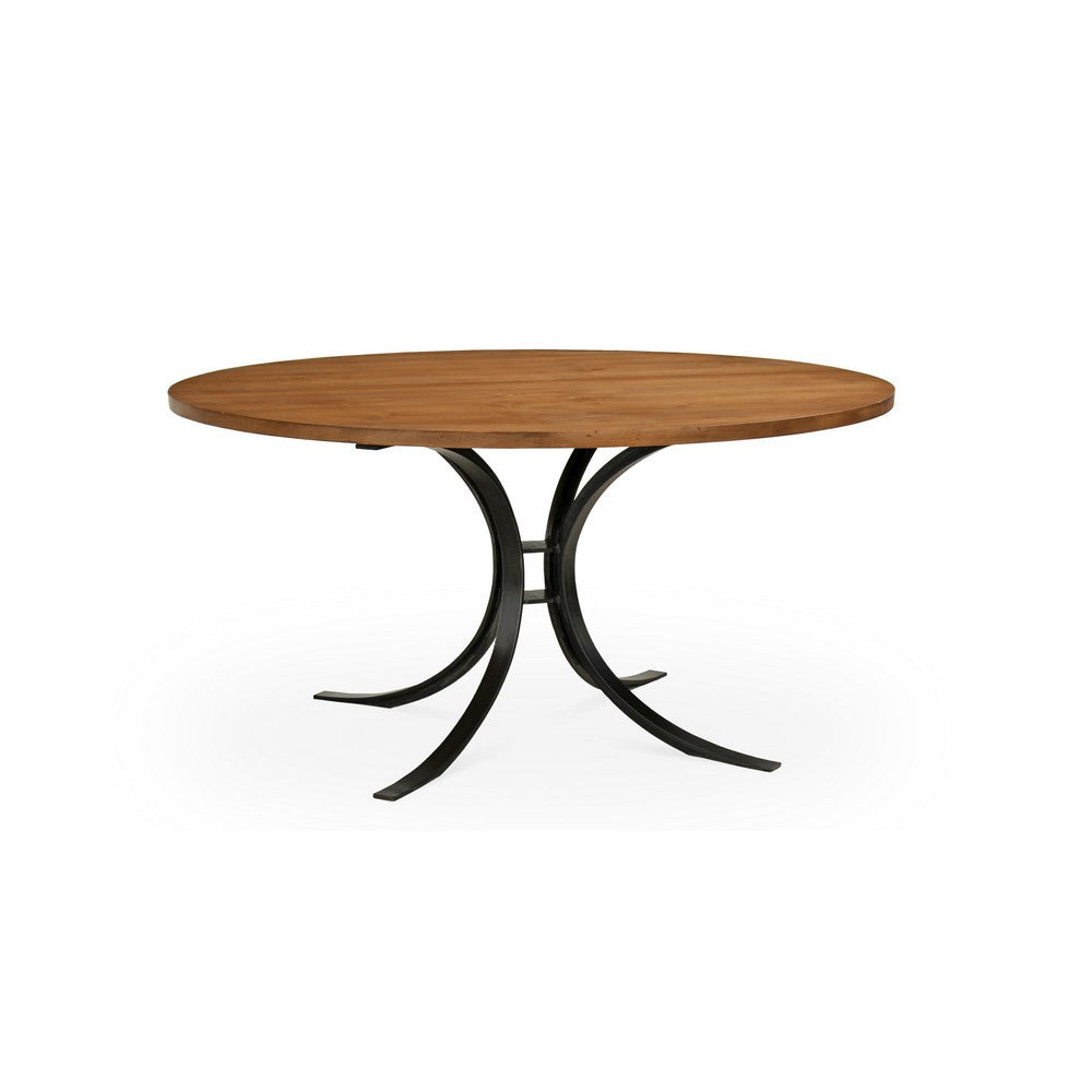 Redford House Quincy Round Dining Table in Almond, Med.
