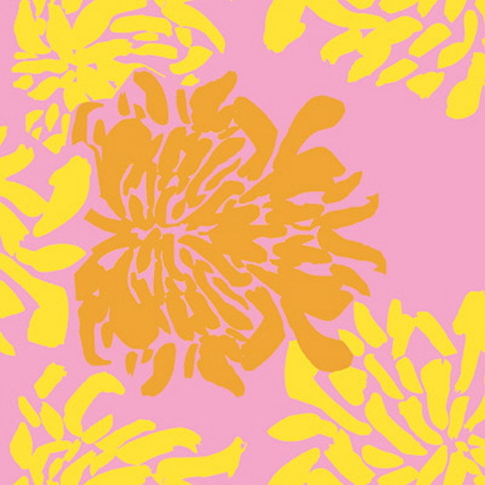 Kravet Fabric by the Yard:  Big Bloom in Petal Pink