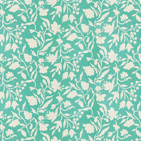 Kravet Fabric by the Yard:  Soemba Shadow in Aqua