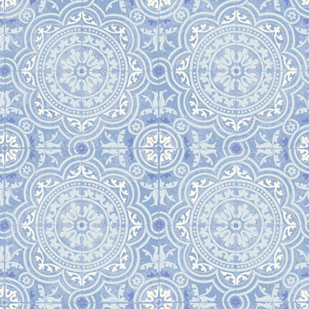 Cole And Son Piccadilly Wallpaper in Soft Blue