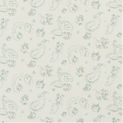 Clarke & Clarke Fabric by the Yard:  Evelina in Duckegg