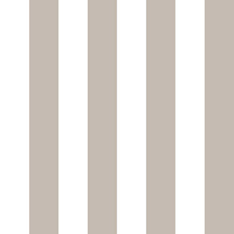Cole And Son Striped Wallpaper in Taupe