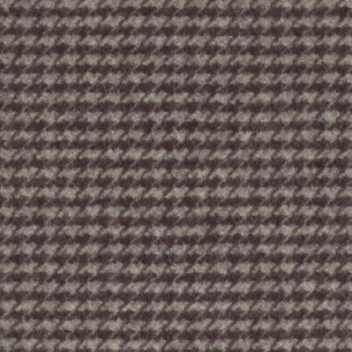 Clarke & Clarke Fabric by the Yard:  Houndstooth Check in Slate/Damson