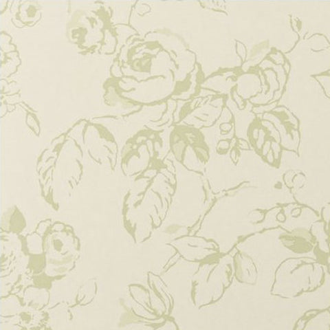 Clarke & Clarke Delphine Wallpaper in Sage