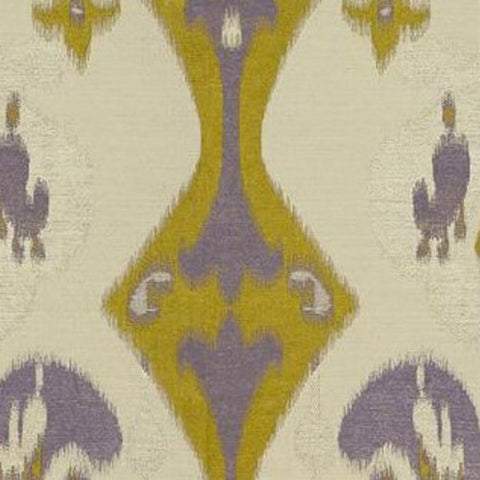 Kravet Fabric by the Yard:  Ikat Zara in Olive