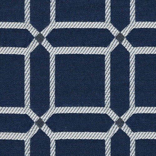 Kravet Fabric By The Yard: Blue Boxy