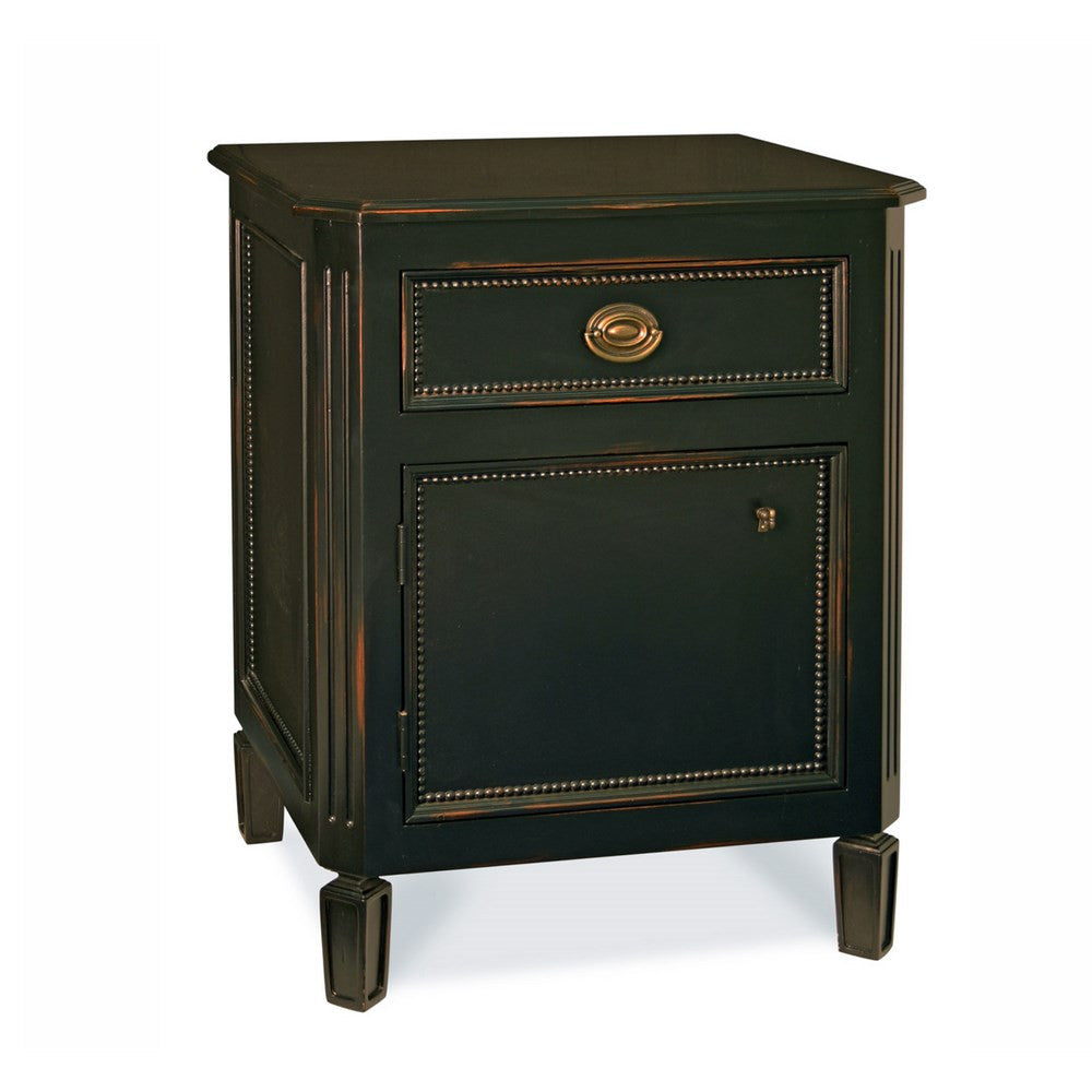 Redford House Swedish Nightstand in Black