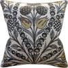 Ryan Studio Cornelia Pillow in Grey and Gold