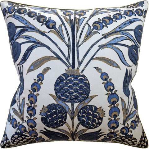 Ryan Studio Cornelia Pillow in Navy