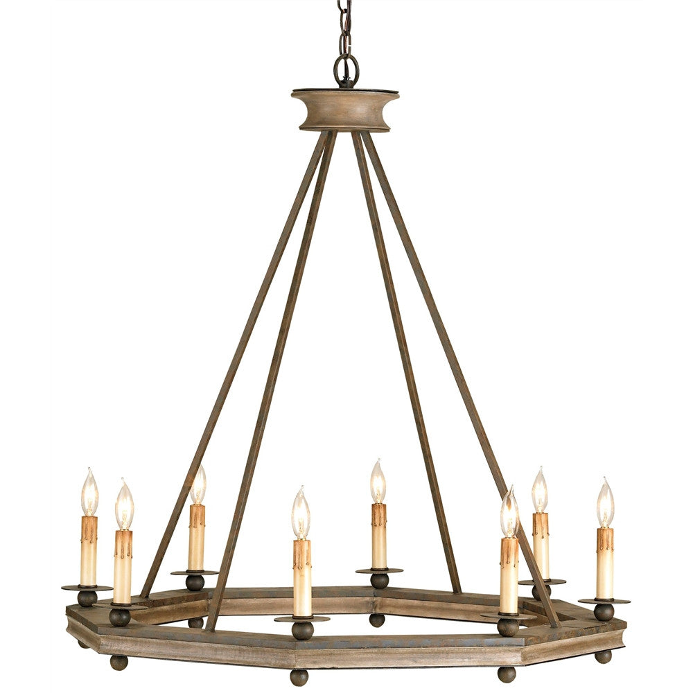 Currey & Company Bonfire Chandelier