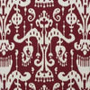 Kravet Fabric by the Yard:  Ikat Sassari in Garnet