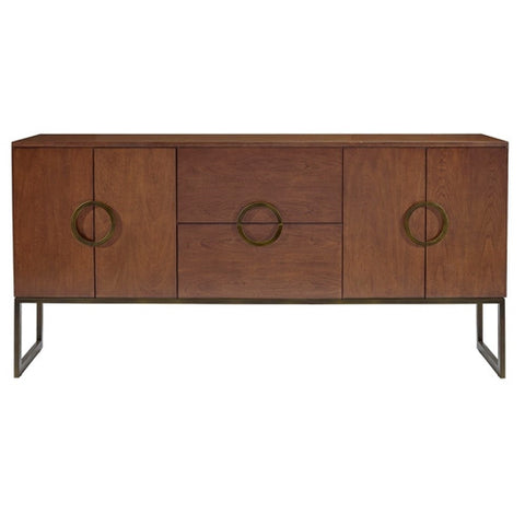 Belle Meade Signature Jagger Sideboard in Java/Bronze