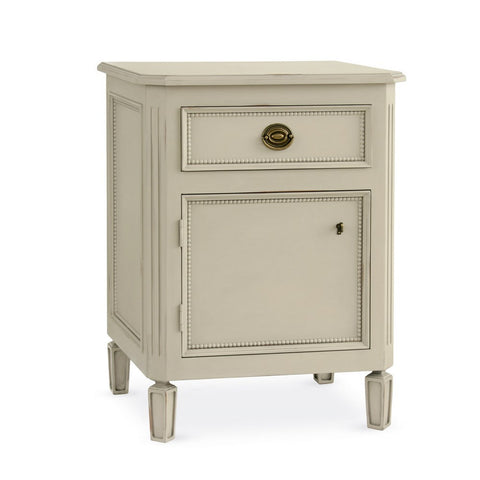 Redford House Swedish Nightstand in Shell Grey