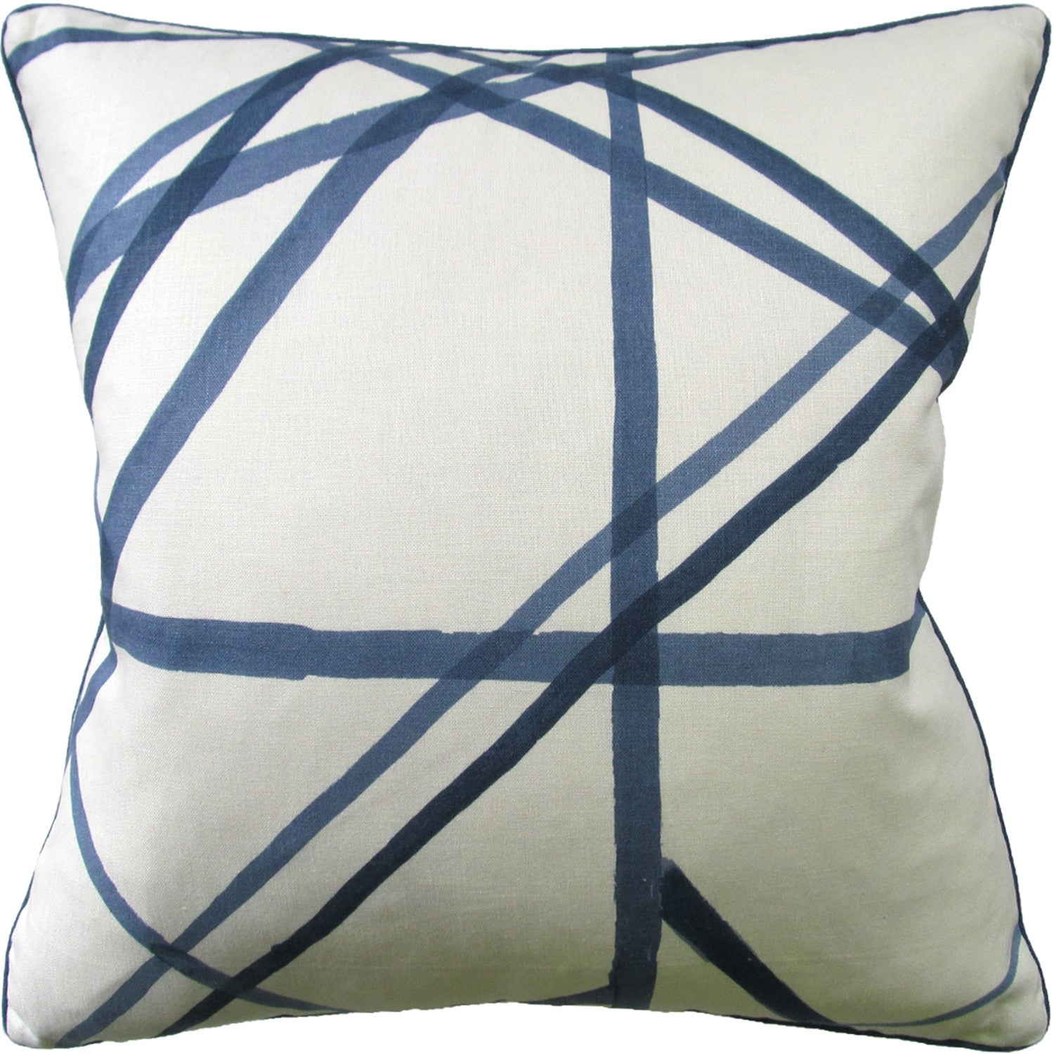 Ryan Studio Channels Pillow in Periwinkle