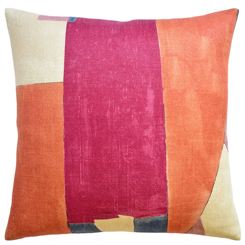 Ryan Studio District Pillow in Claret