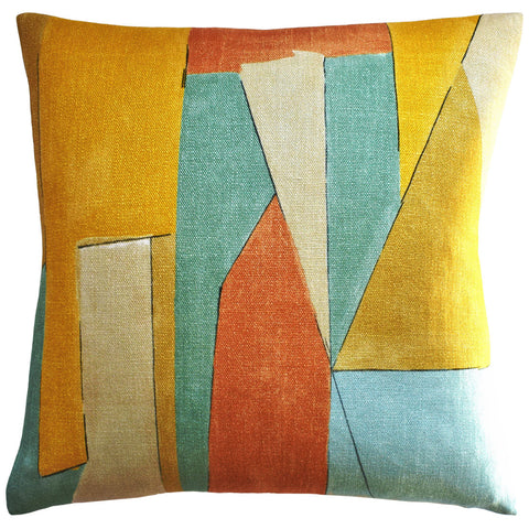 Ryan Studio District Pillow in Tawny