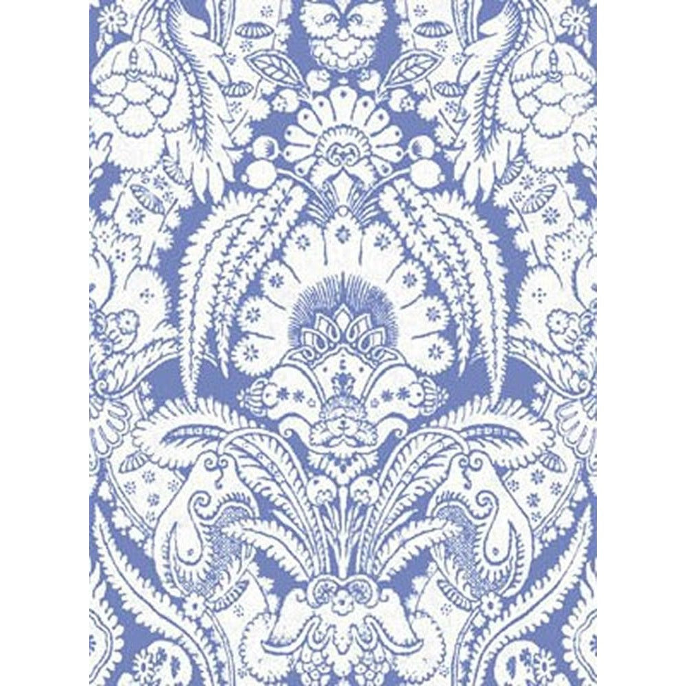 Cole And Son Chatterton Wallpaper in Blue