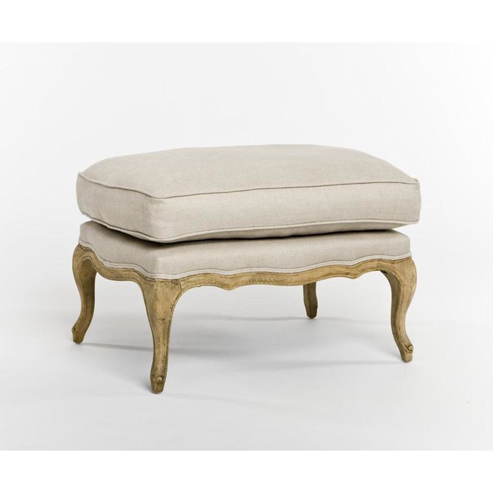 Zentique Bastille Ottoman in Natural