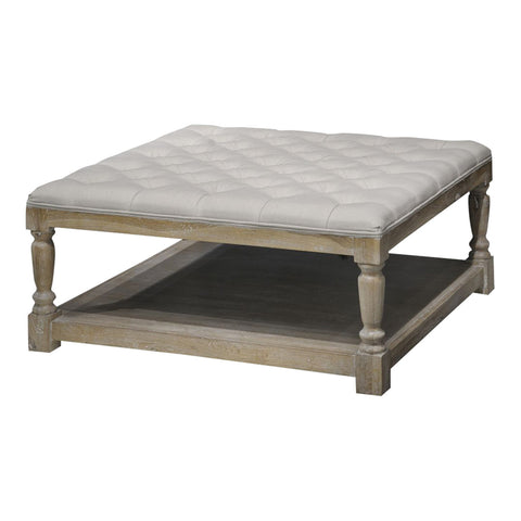 Guale Tufted Ottoman Cocktail Table