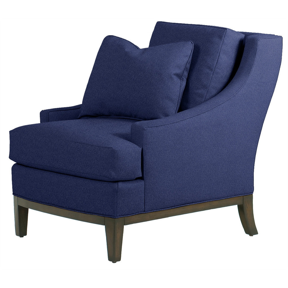 Kravet Leafield Chair In Caribbean Blue