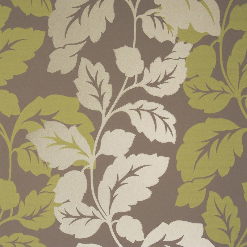 Clarke & Clarke Vine Double Roll Wallpaper in Citrus