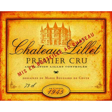 Art Classics Ltd. Beverage Label Art II
