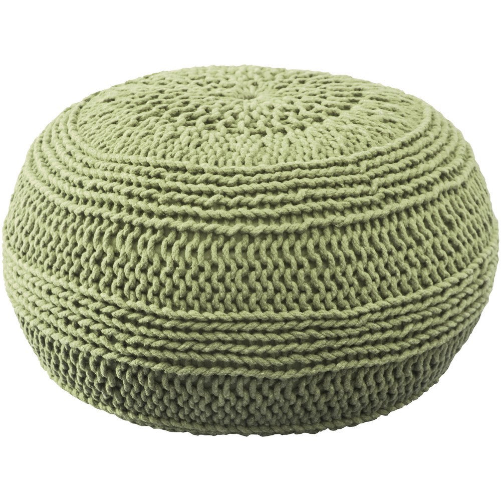 Pouf in Lime