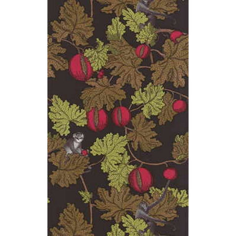 Cole And Son Forbidden Fruit Wallpaper in Brown
