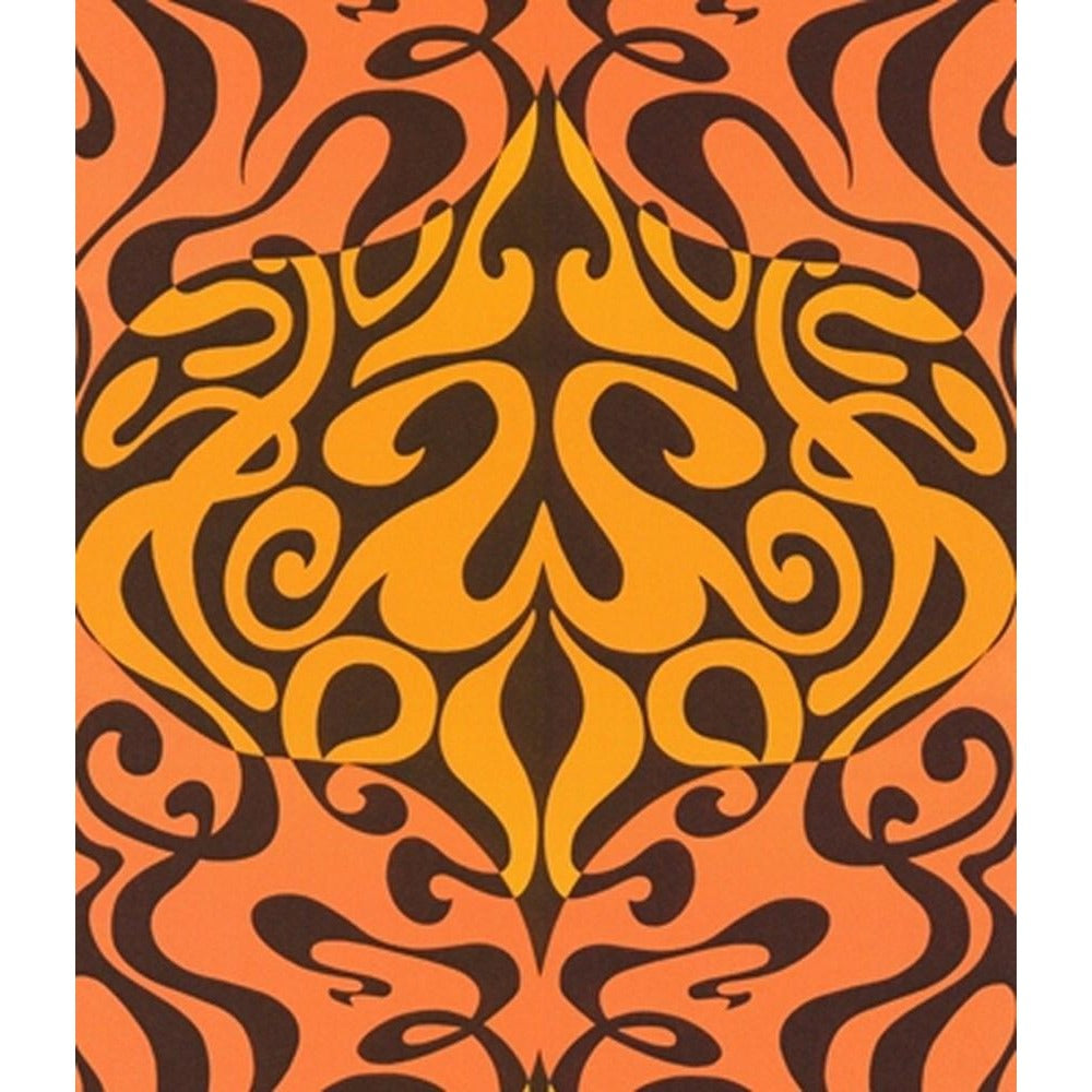 Cole And Son Woodstock Wallpaper in Orange