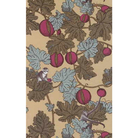 Cole And Son Forbidden Fruit Wallpaper in Gold