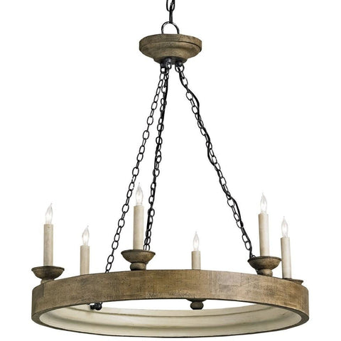 Currey & Company Beachhouse Chandelier