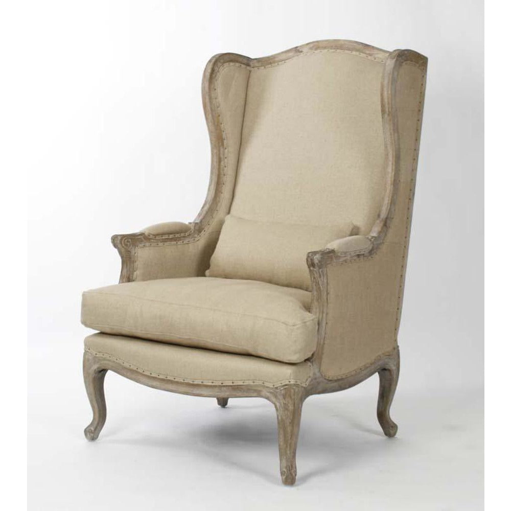 Zentique Leon Chair in Jute/Hemp