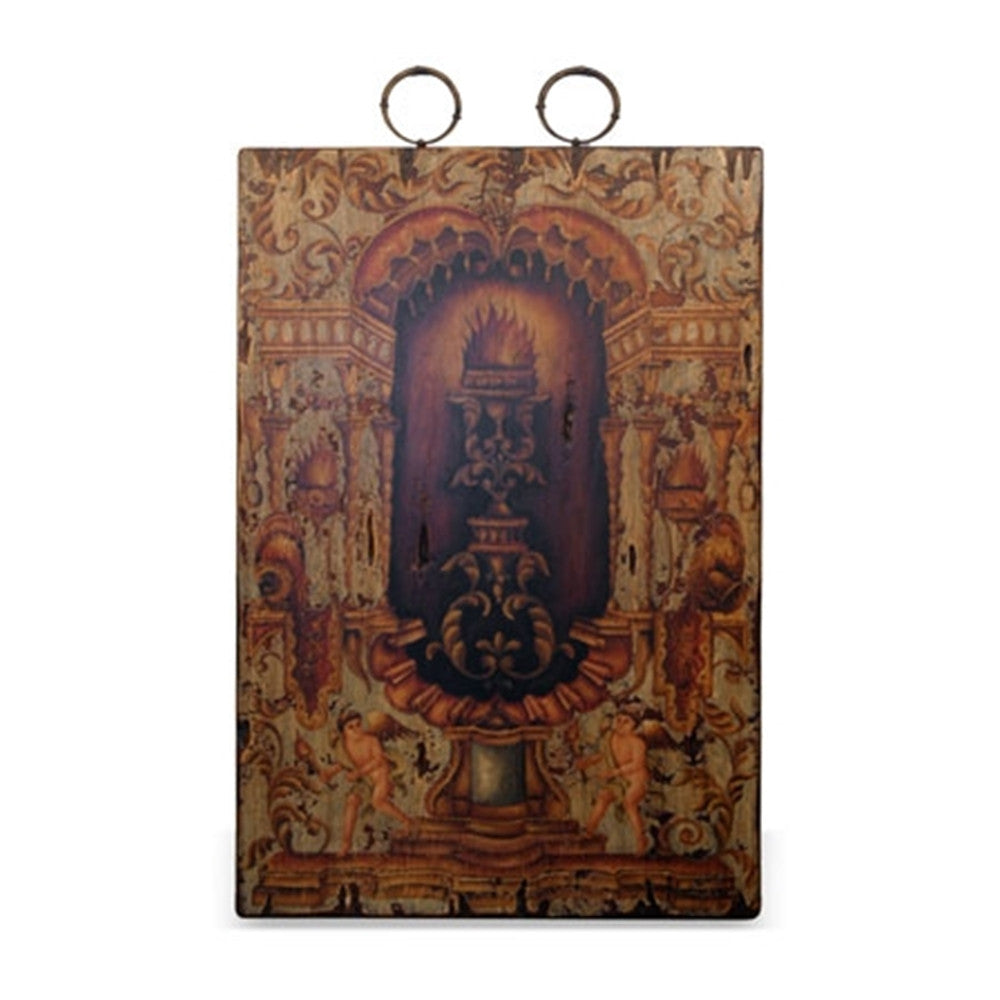 Ph Collection Wall Plaque, Colonial Angel