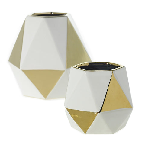 Kimberly Geometric Vase