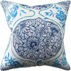 Ryan Studio Katsugi Pillow in Cobalt and Turquoise